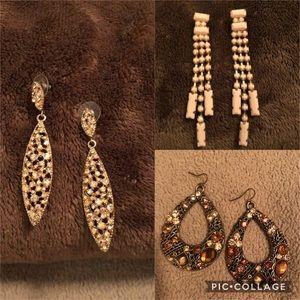 3 Pair Earring Bundle